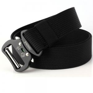 ENNIU Quick Dry Tactical Belt Quick-Release Military Style Shooters Belt with Metal Buckle -