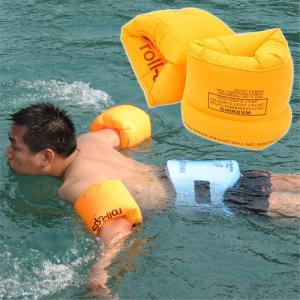 Safety Thickening Double Air Bag Inflatable Swimming Arm Band Ring for Children -