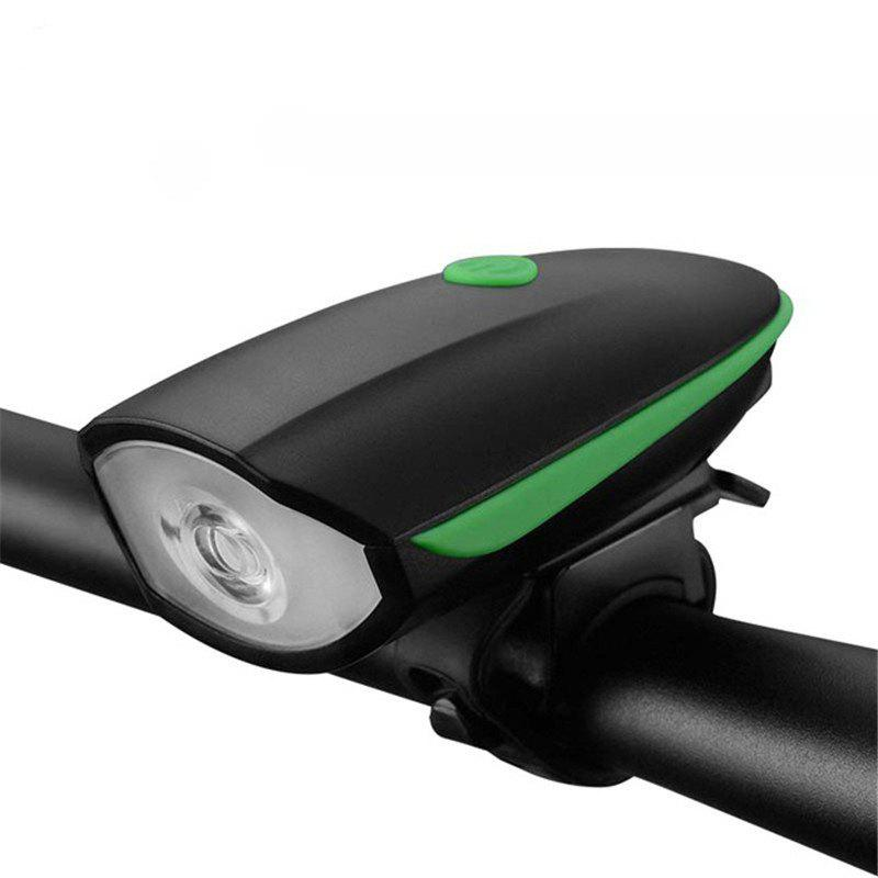 Buy Multifunction Waterproof Bike Head Light LED USB Charging Flashlight with Bell Speaker Bicycle Accessories