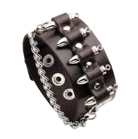 Fashion QNW2414 Korean Style Fashion Rivet Bracelet