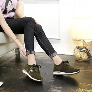 Spring and Autumn New Flat Lightweight Casual Shoes -