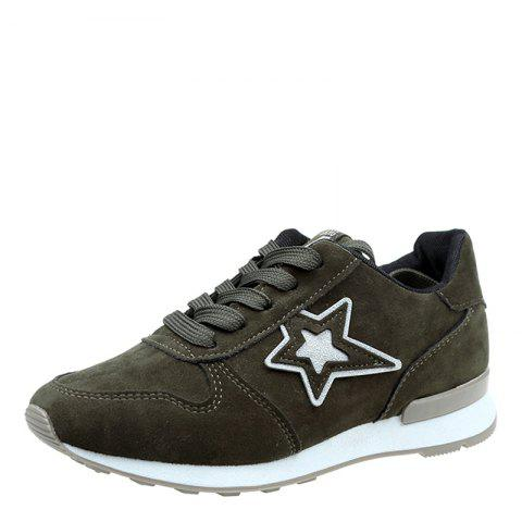 Online Spring and Autumn New Flat Lightweight Casual Shoes
