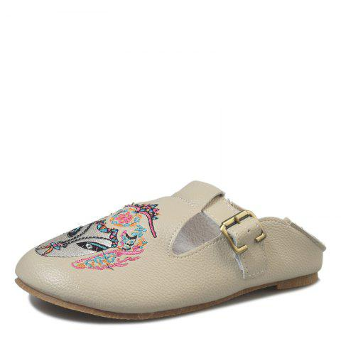 Best Round Head Lazy with Flat Shoes