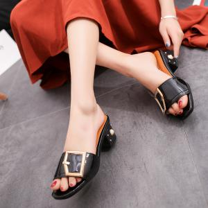 Ladies Fashion Simple Comfortable Cool Slippers -