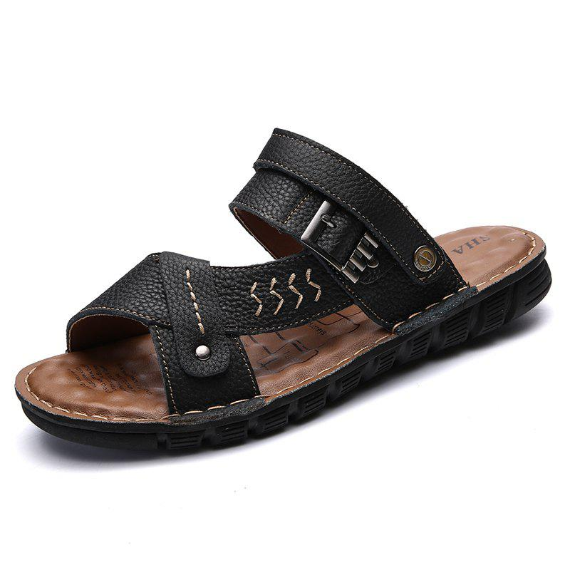 Chic Men Sandals Shoes Leisure Casual Soft Sport Summer Beach Slippers