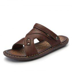 Men Sandals Hiking Shoes Leisure Casual Soft Sport Summer Beach Slippers -