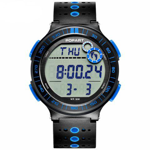 Best POPART POP-983 Unisex Pedometer Calories Distance Multifunction Digital Watch