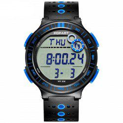 POPART POP-983 Unisex Pedometer Calories Distance Multifunction Digital Watch -