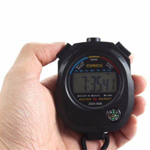Outfit Digital Stopwatch Chronograph Sport Counter Timer Odometer Watch
