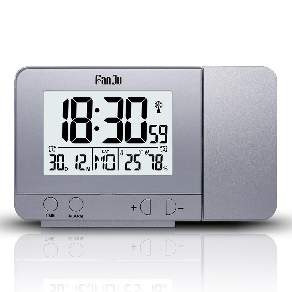 Outfits FanJu FJ3531 Projection Alarm Clock with Temperature and Time Projection / USB Charger/ Indoor Temperature and Humidity