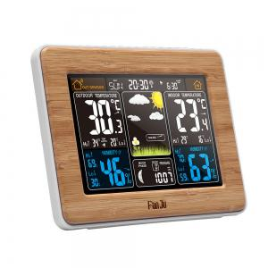 FanJu FJ3365W Weather Station Color Forecast with Temperature / Humidity / Barometer / Alarm / Moon phase -
