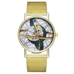 ZhouLianFa T71 Fashion High-End Atmospheric Rotating Musical Instrument Pattern Quartz Watch -