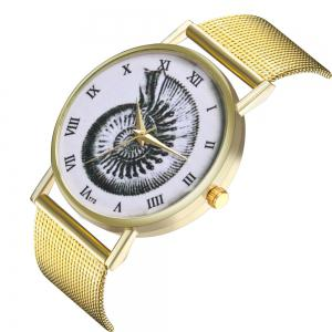 ZhouLianFa T73 Fashion High-End Cartoon Conch Pattern Quartz Watch -