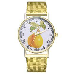 ZhouLianFa T75 Trendy High-End Atmospheric Sydney Pattern Quartz Watch -