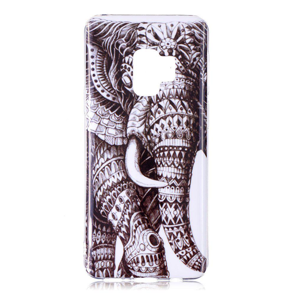 Housse en silicone pour Samsung Galaxy S9 motif Elephant Soft TPU Cover