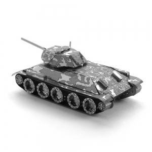 Creative T34 Tank 3D Metal High-quality DIY Laser Cut Puzzles Jigsaw Model Toy -