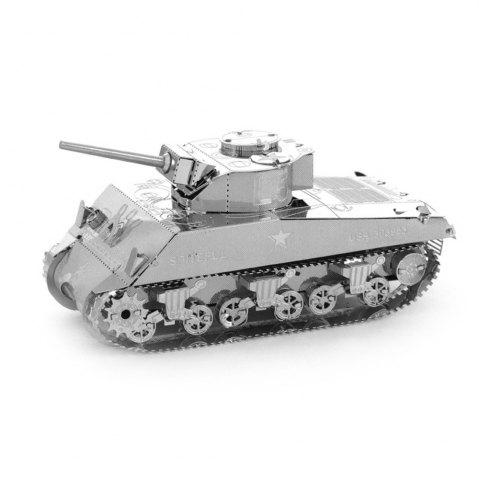 Affordable Creative Sherman Tank 3D Metal High-quality DIY Laser Cut Puzzles Jigsaw Model Toy