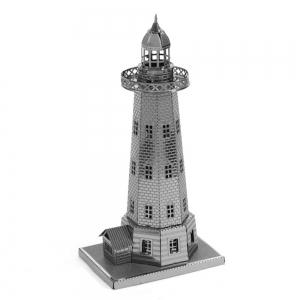 Creative Lighthouse 3D Metal High-quality DIY Laser Cut Puzzles Jigsaw Model Toy -