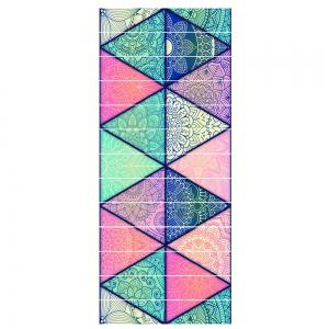 Motif de Lotus Personnalité Creative Escaliers Autocollants Étape Décoration Home Decal -