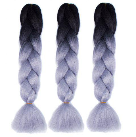 New Silky Strands Ombre Synthetic Braiding Hair Jumbo Braids Hairstyles