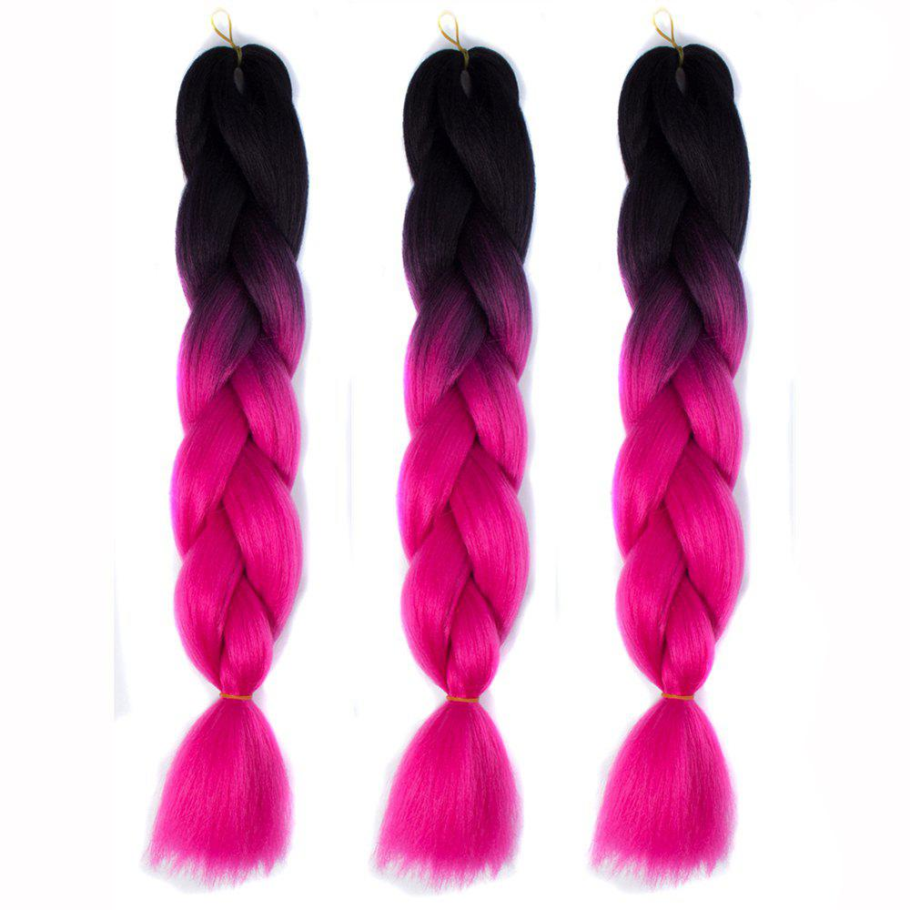 Buy Silky Strands Ombre Synthetic Braiding Hair Jumbo Braids Hairstyles