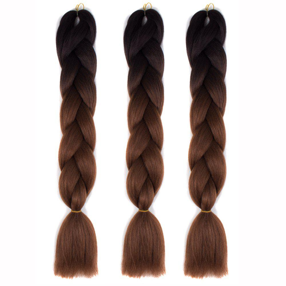 Discount Silky Strands Ombre Synthetic Braiding Hair Jumbo Braids Hairstyles