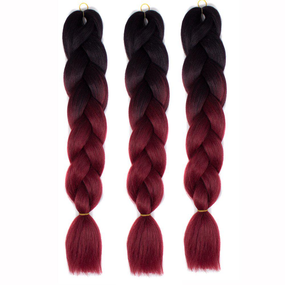 Best Silky Strands Ombre Synthetic Braiding Hair Jumbo Braids Hairstyles