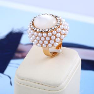 Fashion Cat's Eye Opening Ring -