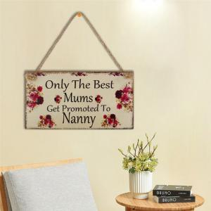 Mother's Gift for Festival Creative Wood Home Decoration and Cross Border Arts and Crafts -
