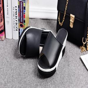 New Ladies Fashionable Leather Beach Shoes -