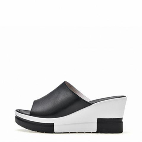 Hot New Ladies Fashionable Leather Beach Shoes