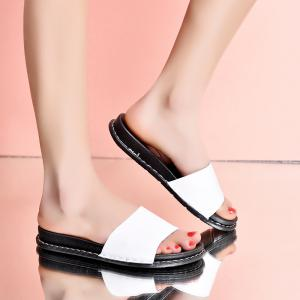 New Women Classic Color Comfortable Casual Wild Slippers -