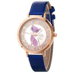Fox Pattern UV Color Changing Watch -