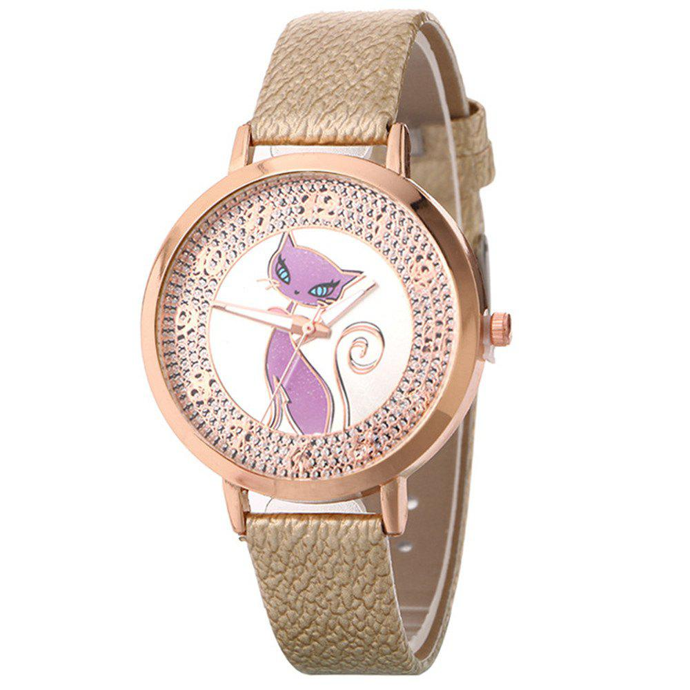 Discount Fox Pattern UV Color Changing Watch