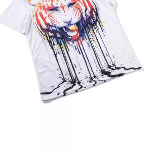 Graffiti Tiger 3D Print T-shirt -