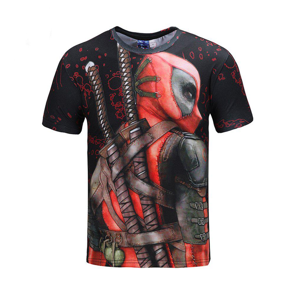 Latest Movie Character 3D Print T-shirt