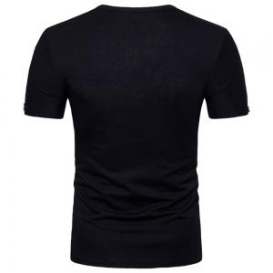 2018 Spring and Autumn New Men's Casual Short Sleeve T-Shirt -