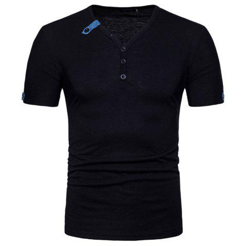 Unique 2018 Spring and Autumn New Men's Casual Short Sleeve T-Shirt