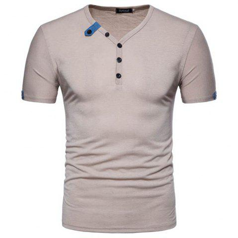 Store 2018 Spring and Autumn New Men's Casual Short Sleeve T-Shirt