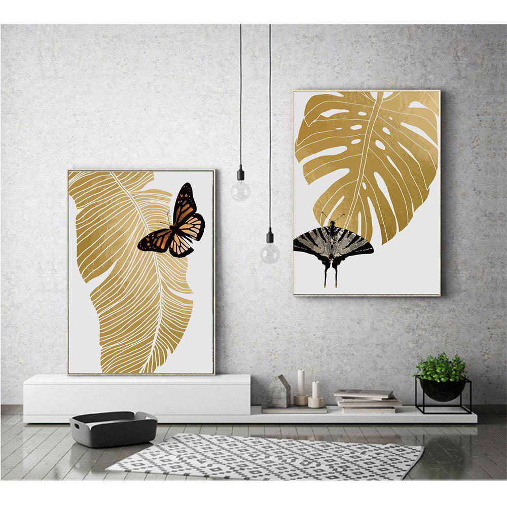 Canvas Inkjet Abstract Cute Simple Butterfly Painting Living Room Bedroom Restaurant Home Wall Art