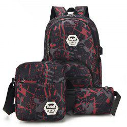 Fashion Waterproof Backpacks for Teenage Girls Casual Shoulder Bags Printing Camouflage Backbag -
