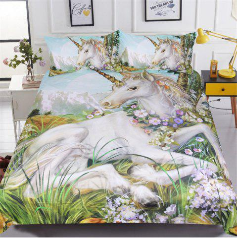 New BeddingOutlet Unicorn Duvet Cover Set Twin Full Queen King 3 Pieces