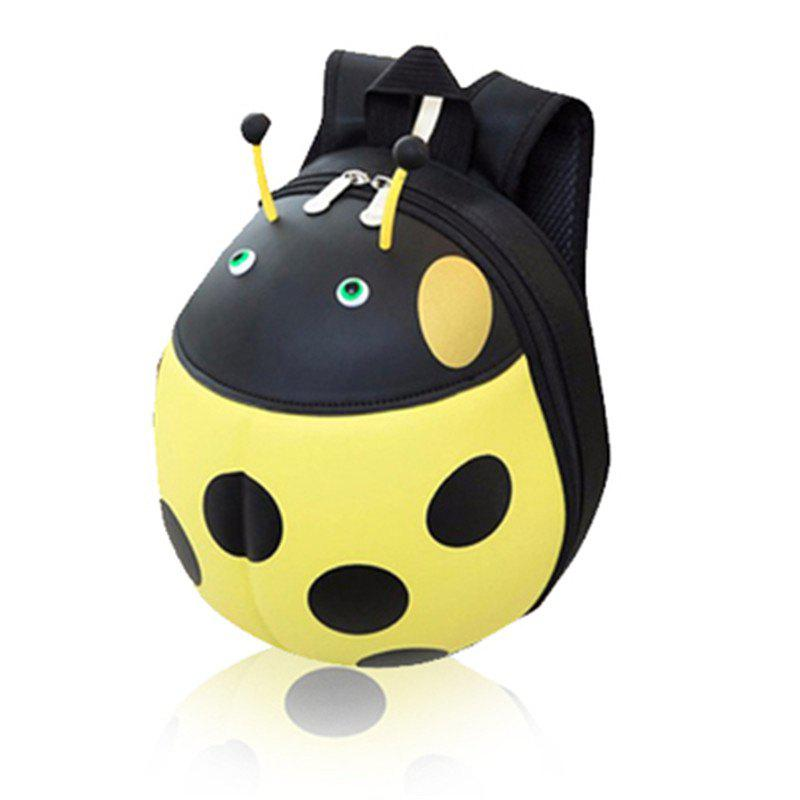 Unique Children Pack Kindergarten Girl Pupils Backpack Beetle Hard Shell Bag