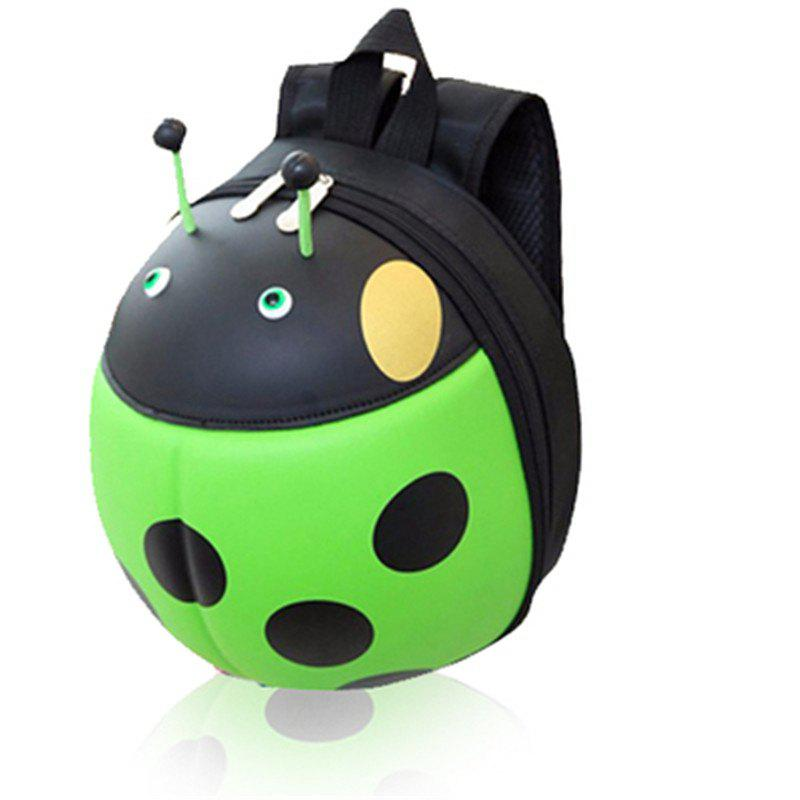 Fancy Children Pack Kindergarten Girl Pupils Backpack Beetle Hard Shell Bag
