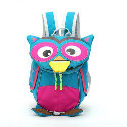 Children's Cartoon Owl Small Backpack Anti Japan Kindergarten Children Lost Bag -