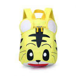 Fashionable Baby Tiger Nursery School Children'sDouble Shoulder Bag -