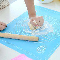 Non-Stick Silicone Baking Cake Dough Fondant Rolling Kneading Mat -