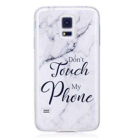Latest Ultra Thin Black And White Mixed color Marble Stone Patterned Soft TPU Phone Case for Samsung Galaxy S5