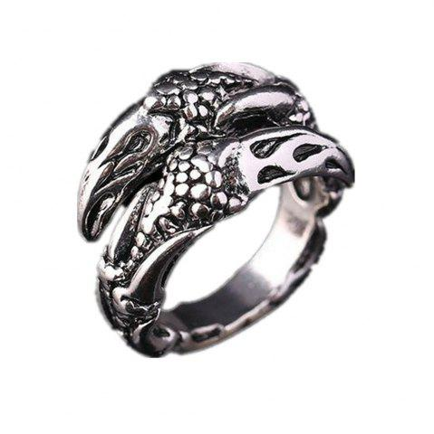 Hot Titanium Steel Fashion Personality Devil Eagle Claw Ring Men