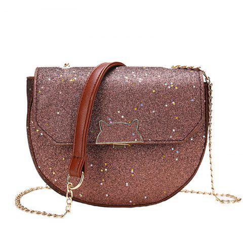 Unique Sequined Single Shoulder Messenger Bag